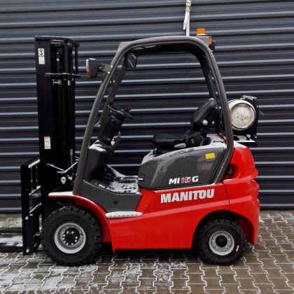 Nowy wózek widłowy spalinowy Manitou MI15G