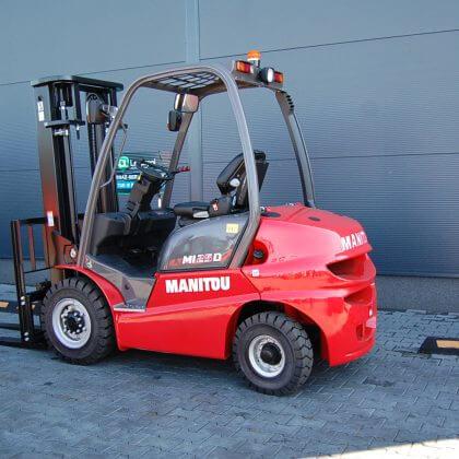 Nowy wózek widłowy spalinowy Manitou MI25D
