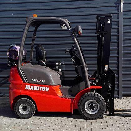 Nowy wózek widłowy spalinowy Manitou MI18G