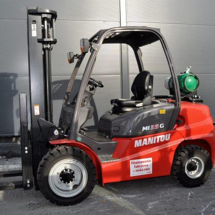 Nowy wózek widłowy spalinowy Manitou MI35G