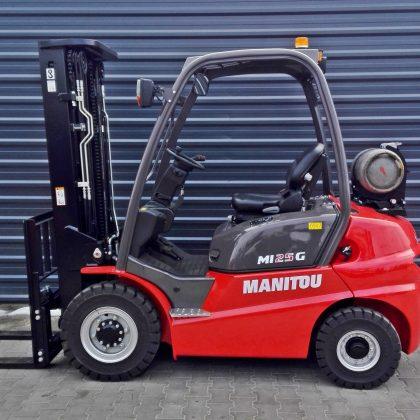 Nowy wózek widłowy spalinowy Manitou MI25G
