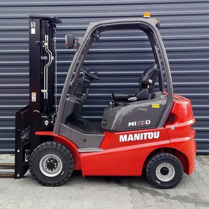 Nowy wózek widłowy spalinowy Manitou MI18D