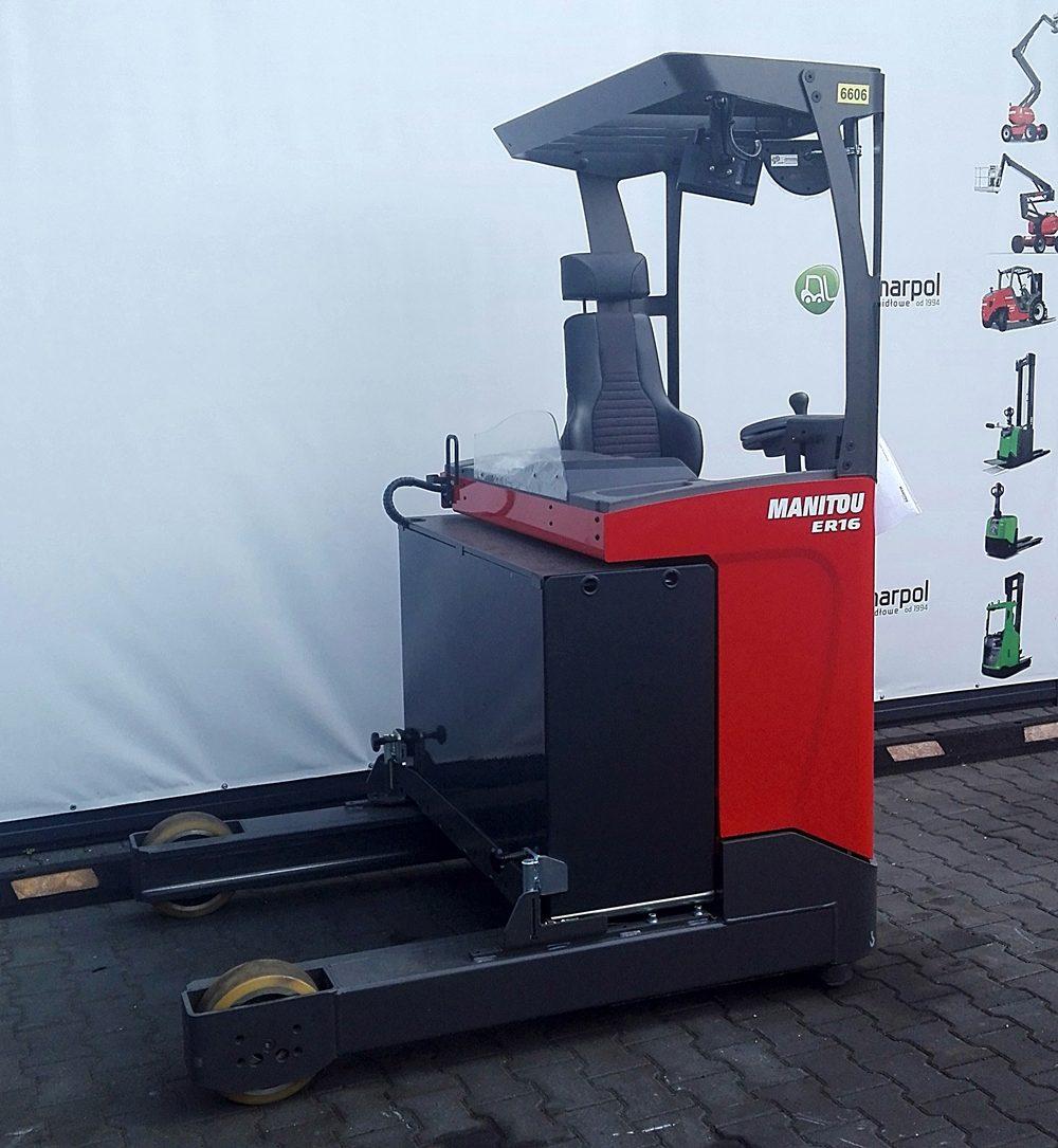 Nowy wózek elektryczny Reach Truck Manitou ER16