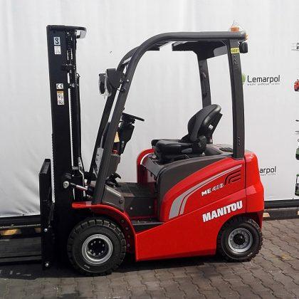 Nowy wózek widłowy elektryczny Manitou ME418