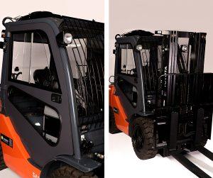 Kabiny wózków do widłowych Toyota