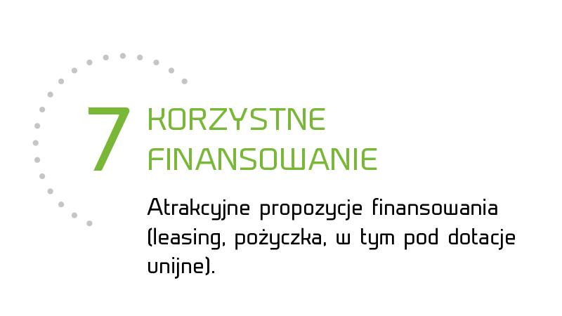 Korzystne finansowanie
